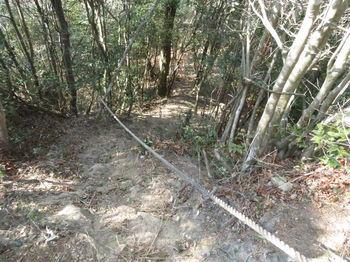 IMG_4562山頂直下の下り・ロープ.JPG