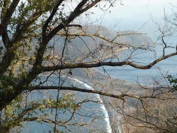 P1010636林道から砂州を望む.JPG