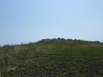 P1010936鉄柱沿いに烏帽子山山頂をめざす.JPG