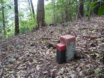 P1020022下降地点の石標「一五九」.JPG