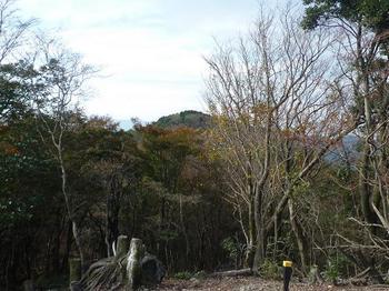 P1030076徳仙山頂より堂ヶ岳山頂を望む.JPG