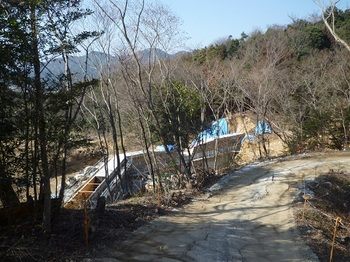 P1040157工事中の堰堤.JPG