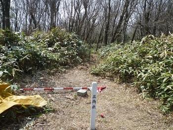 P1080874山頂三角点(登山道方向).JPG