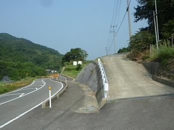 P1100975舗装林道取り付き.JPG