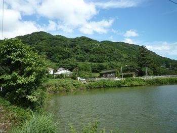 P1110175新堤池から縦走尾根.JPG