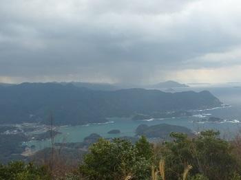 P1130049展望地から遥かに遠岳山.JPG