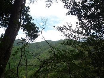 P1180602尾根上からの東鳳ベン山の展望.JPG