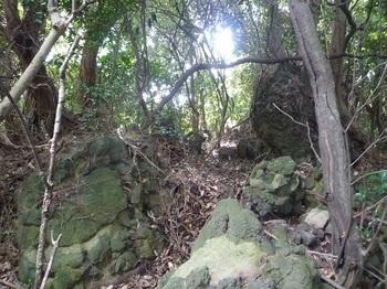 P1180872深山山頂部・集塊岩(逆方向).JPG