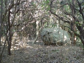 P1190916鞍部の石.JPG