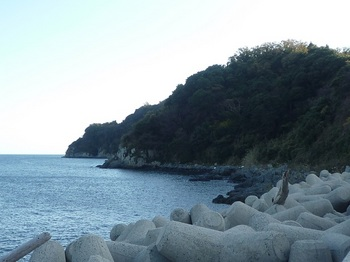 P1200397津久美浜の反対側(東)の海岸.JPG