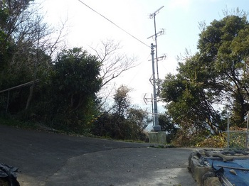 P1210528集落道分岐・共同TVアンテナ.JPG