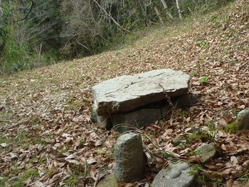 P1220376小石仏と平板岩.JPG
