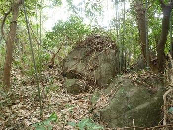 P1230635山頂部の小岩.JPG