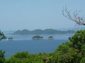 P1240487細尾根上から牛島.JPG