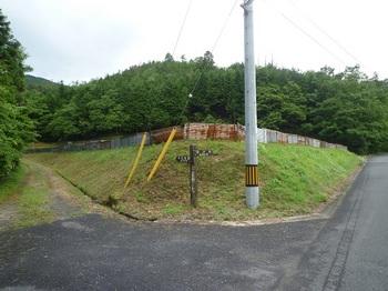 P1250426自然歩道道標・林道入口.JPG