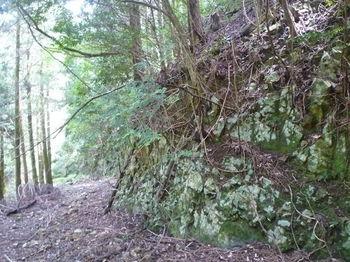 P1260609崖状の下降地点.JPG