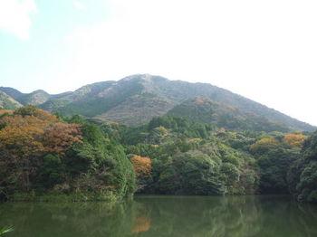 P1290614大羽山溜池から鬼ヶ城.JPG