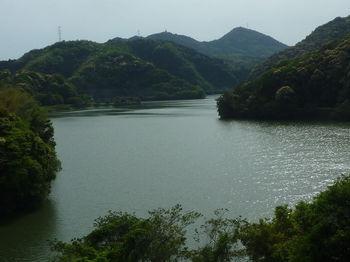 P1330438菊川湖・四熊ヶ岳.JPG