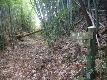 P1350337道標・幅広山道出合い(左方向).JPG