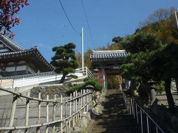 P1380132向岸寺の寺門・階段.JPG